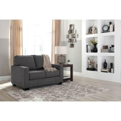 Zeb Charcoal Living Room Group