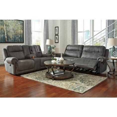 Austere Gray Living Room Group