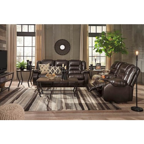 Vacherie Chocolate Living Room Group