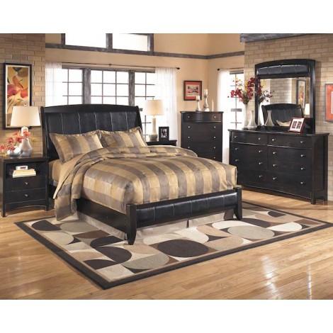 Harmony Dark Brown Bedroom Set