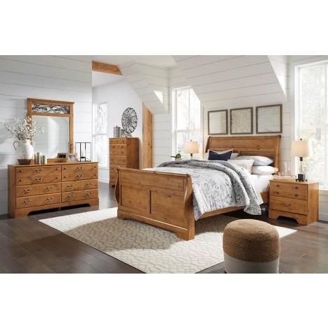 Bittersweet Light Brown Bedroom Set