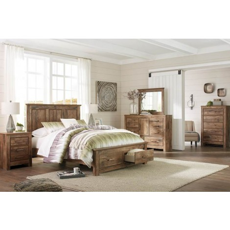 Blaneville Brown Bedroom Set