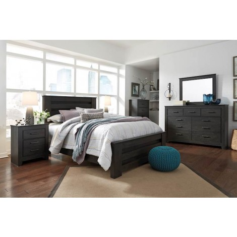 Brinxton Charcoal Bedroom Set