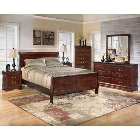 Alisdair Dark Brown Bedroom Set