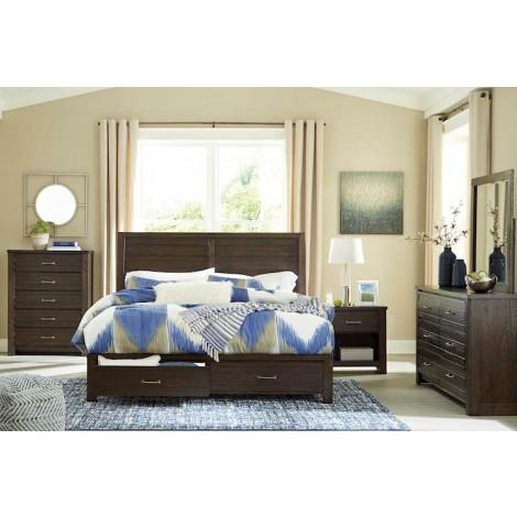 Darbry Brown Bedroom Set