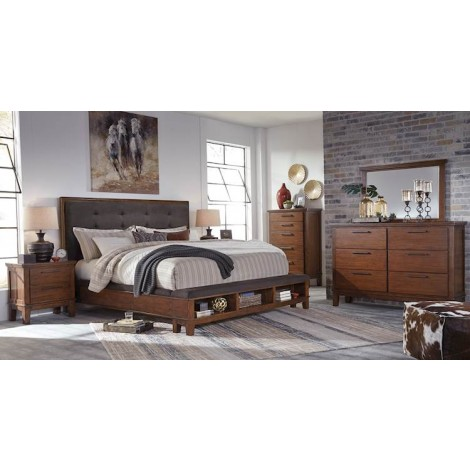 Ralene Medium Brown Bedroom Set