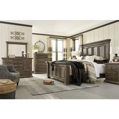 Wyndahl Rustic Brown Bedroom Set