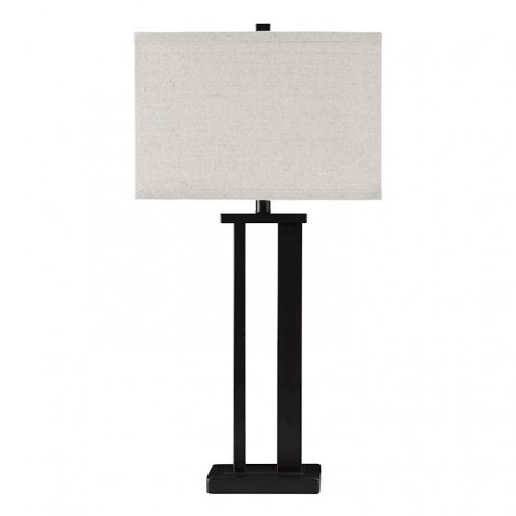 Aniela Bronze Finish Metal Table Lamp (Includes 2)