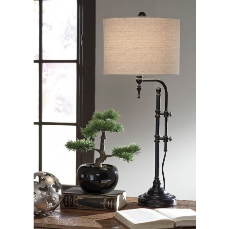 Anemoon Black Metal Table Lamp (Includes 1)