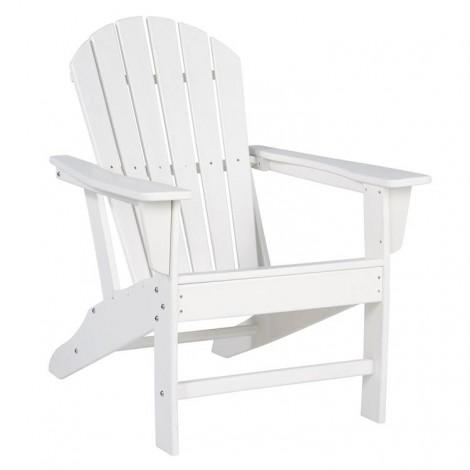 Sundown Treasure White Adirondack Chair