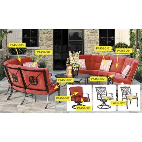 Burnella Beige/Brown Seat Cushion
