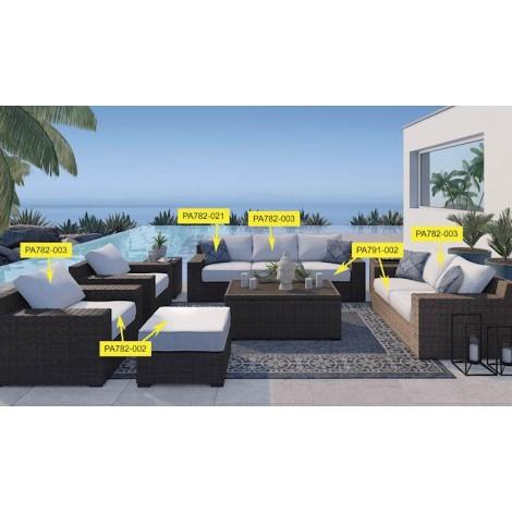 Alta Grande Beige Living Room Group
