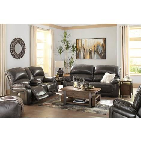 Hallstrung Gray Living Room Group