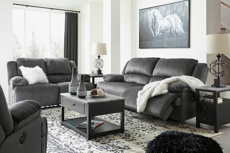 Clonmel Charcoal Living Room Group Speedyfurniture Com