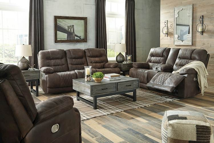 Welsford Walnut Living Room Group Speedyfurniture