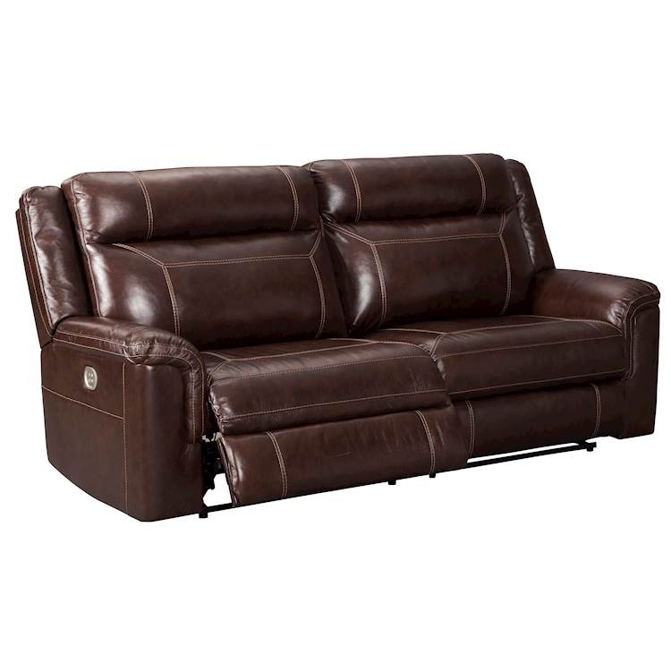 Admirable Wyline Coffee Power Recliner Sofa With Adjustable Headrest Gmtry Best Dining Table And Chair Ideas Images Gmtryco