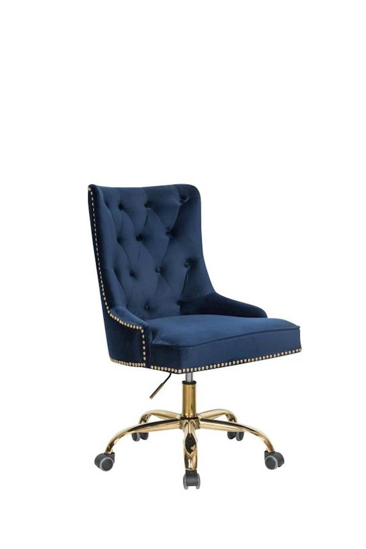 Picture of: Blue Fabric Office Chair Speedyfurniture Com