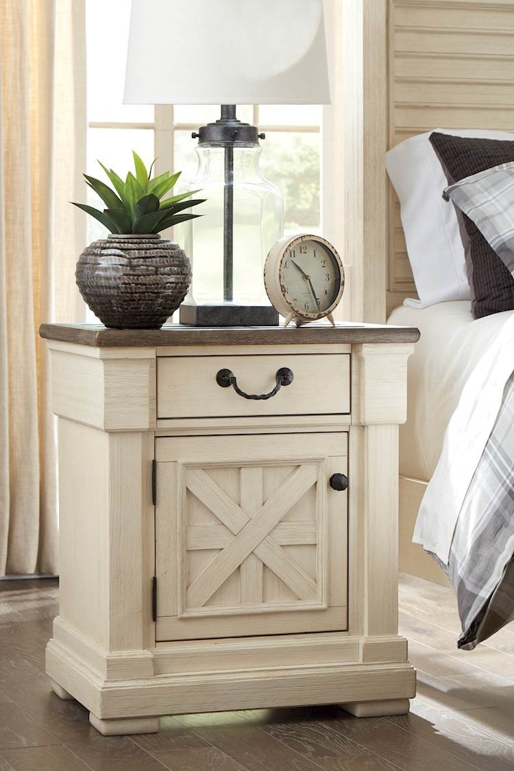Bolanburg Antique White One Drawer Night Stand