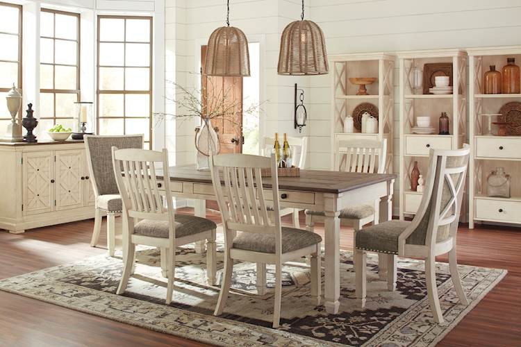 Bolanburg Antique White Dining Room Set Zoom Description Reviews