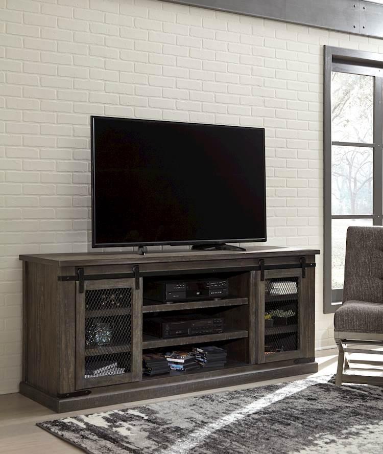 Danell Ridge Brown Extra Large Tv Stand Speedyfurniture Com