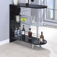 Glossy Black Bar Unit