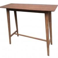 Natural Walnut Bar Table
