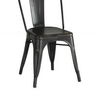Keller Black Dining Chair