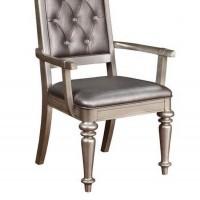 Bling Game Metallic Arm Chair