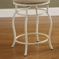 Cream Counter Height Stool