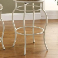 Cream Bar Height Stool
