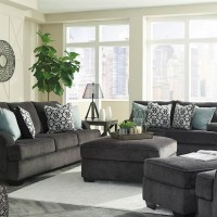 Charenton Charcoal Living Room Group