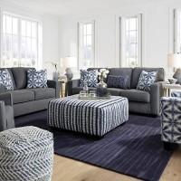 Kiessel Nuvella Steel Living Room Group