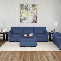 Bantry Nuvella® Indigo Living Room Group