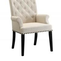 Cream Dining Room Chair