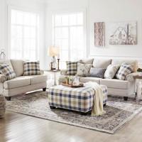 Meggett Linen Living Room Group