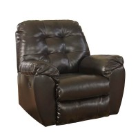 Alliston Chocolate Rocker Recliner