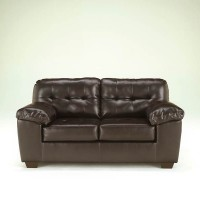 Alliston Chocolate Loveseat