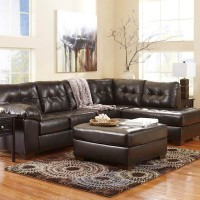 Alliston Chocolate Sectional Living Room Group