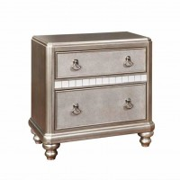 Bling Game Metallic Nightstand