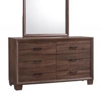 Brandon Bedroom Medium Warm Brown Dresser