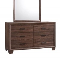 Brandon Bedroom Medium Warm Brown Mirror