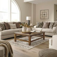 Marciana Bisque Living Room Group