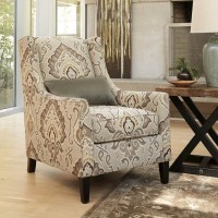 Wilcot Linen Accent Chair