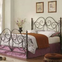 London Metal Collection Bedroom Set