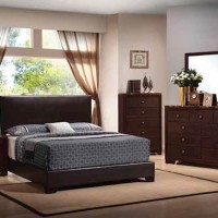 Conner Dark Brown Twin Bed