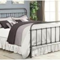 Livingston Metal Collection Bedroom Set