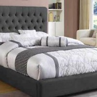 Chloe Upholstered Collection Bedroom Set