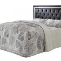 Black Upholstered Headboard