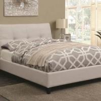 Ivory Queen Bed