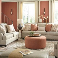 Almanza Wheat Living Room Group